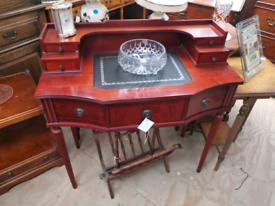 Mahogany vintage writing desk
