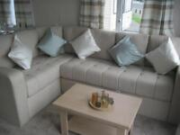For sale new static caravan holiday home sited with seaviews! South Devon