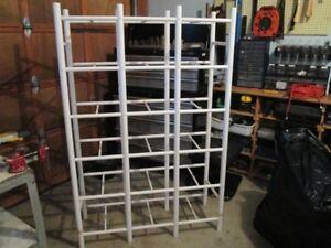 18 Compartment File Box Storage Rack
