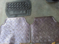 Different Car All Weather Rubber Rear Mats Carpets