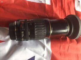 CANON EF USM 100-300mm ULTRASONIC AUTOFOCUS ZOOM LENS, GREAT!!