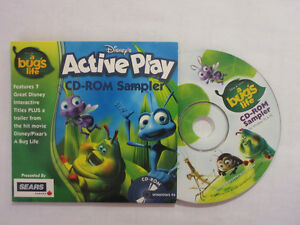 A Bug's Life DEMO CD-ROM