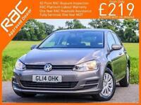 2014 Volkswagen Golf 1.6 TDI Turbo Diesel S 5 Door 5 Speed Bluetooth DAB Climate