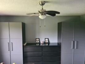Wardrobes and drawers bespoke IKEA