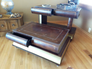 BIG BOOKS! COFFEE TABLE & CONSOLE TABLE! WILL NOT SEPARATE.