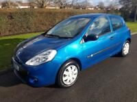 RENAULT CLIO 1.2 (16v) A/C EXTREME - 3 DOOR - 2010 - BLUE ** LOW MILES **