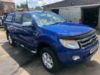 2015 Ford Ranger LIMITED 4X4 DCB TDCI Auto Pick Up Diesel Automatic