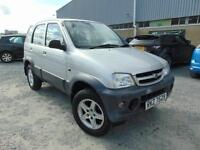 2006 Daihatsu Terios 1.3 Tracker - Silver - 12 months MOT + Platinum Warranty!