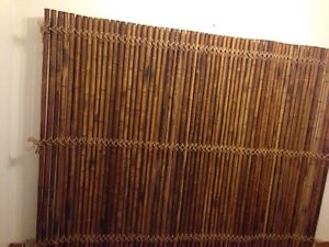 Bamboo Divider or Wall Cover
