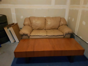 Unique wood coffee table