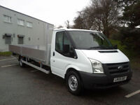 Ford Transit T350 3.5T XLWB Extra Long 20ft (6.1m) Dropside, Very Clean