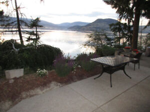 Fully furnished house on Okanagan Lake - 12 kms from downtown