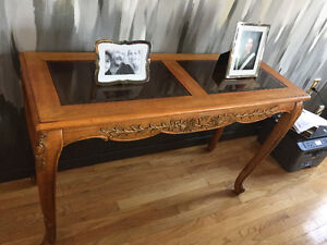 Solid Wood Entryway or Sofa Table