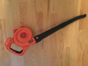 Black & Decker 20V MAX LITHIUM SWEEPER (Leaf Blower) ($30)