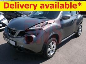 2015 Nissan Juke 1.6 Visia DAMAGED REPAIRABLE SALVAGE