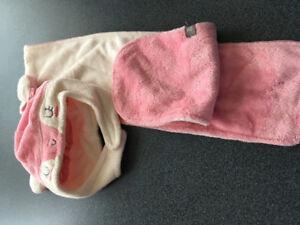 Chapeau et foulard Souris mini