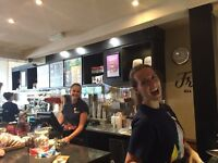 Costa coffee Upton are looking for full time and part time positions in their team.