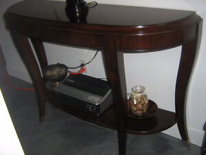Table console luxueuse