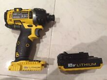 Stanley Fatmax impact driver with 2.0Ah batteries Brand New Croydon Burwood Area Preview