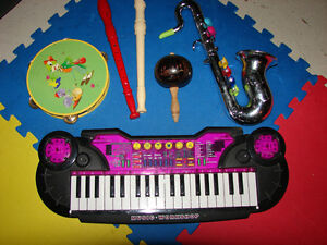 musical items lot