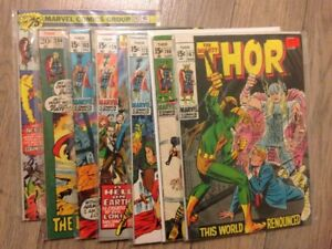 THOR comics lot of 67 from issues 167-424 $195, OBO