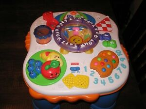Fisher Price Learning/Music Table (legs come off and on)