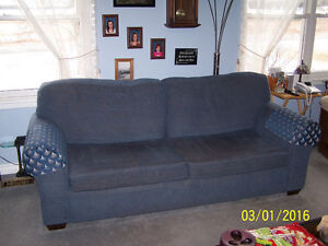 BED, WALKER, STAIRLIFT, QUEEN SIZE CHESTERFIELD/DAYBED, ETC, .