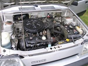 1987 Suzuki one liter engine