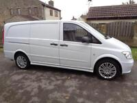 "2013 (13reg) Mercedes-Benz VITO ""Effect"" 113 CDI LONG Sport Look Van"