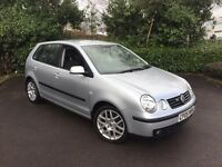 2005 Vw Polo 1.9 GT Tdi 130 ** Full Dealer History ** 74000 Miles