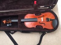 1/4 violin/viola with case