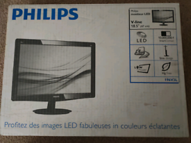 """Philips 18.5"""" inch Wide-screen Monitor"""