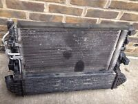 Ford mondeo 1.8 tdci radiator + intercooler + fan rad pack complete breaking spares 57+