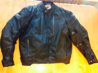 Mens XL Motorcycle Jacket