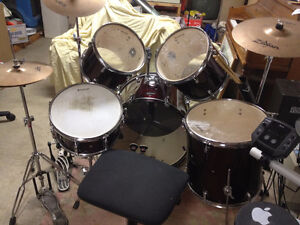 LUDWIG ACCENT CS COMBO drum set