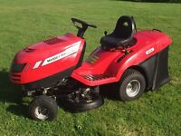 Massey Ferguson 13.5 ride on mower tractor