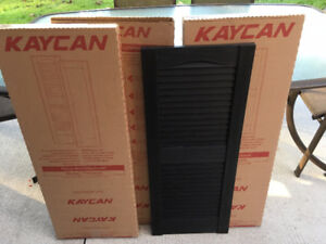New Vinyl Shutters (3 pairs available for $45.00 per pair)