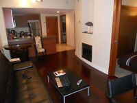 Furnished top condo in Hilton building, 499 $/week, 1950$/month