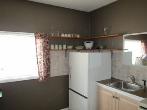 Semi Furnished Bachelor Suite $650 Utilities Included