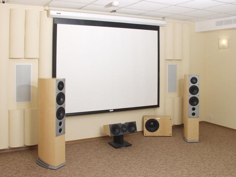 Beamer leinwand kino flair im eigenen wohnzimmer ebay - Beamer im wohnzimmer ...
