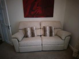 Ashwood designs Hamilton reclining sofa
