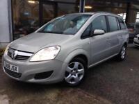 2008 (08) Vauxhall Zafira 1.9CDTi (120ps) auto Exclusiv **38,000 miles, 2 Keys**