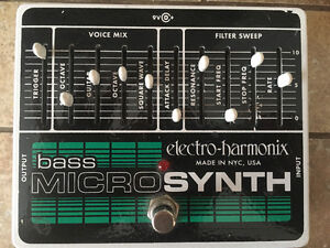 EHX Bass Micro Synth