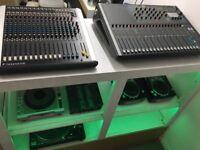 Soundcraft spirit m12 mixing desk