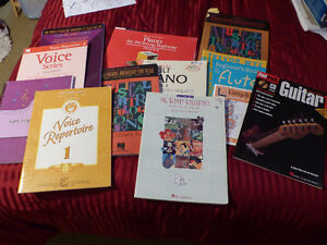 For Sale - Music books