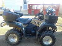Yamaha Grizzly 600 - Great hunting companion this fall!
