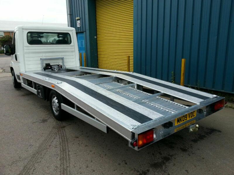 fiat ducato full aluminium recovery car transporter body. Black Bedroom Furniture Sets. Home Design Ideas