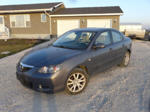 2007  Mazda3 Sedan no rust for only 3950