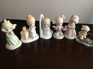 Large Precious Moments Figurines Collection, with Original Boxes
