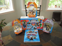 Skylanders Trap Team Starter Pack for wii with 3 Trap Masters
